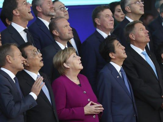 Belgium EU Asia