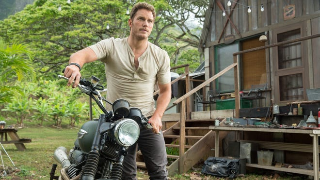 The appeal of Chris Pratt and a bunch of dinosaurs are part of the box-office success of 'Jurassic World.'