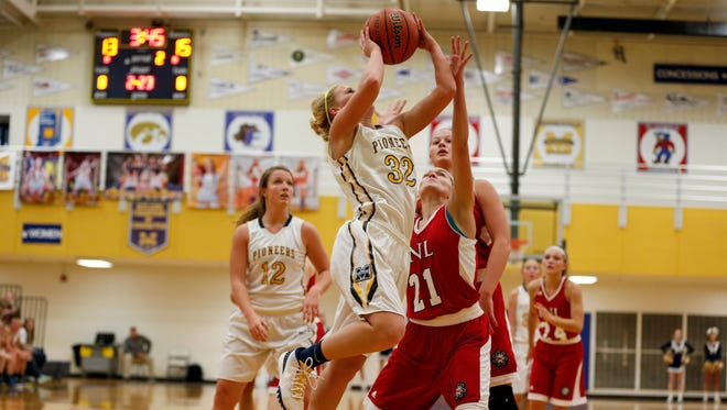 High school girls basketball: Mooresville vs. Bedford North Lawrence