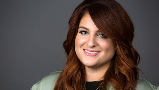 "Singer Meghan Trainor poses for a portrait in New York to promote her new hit single, ""No."""