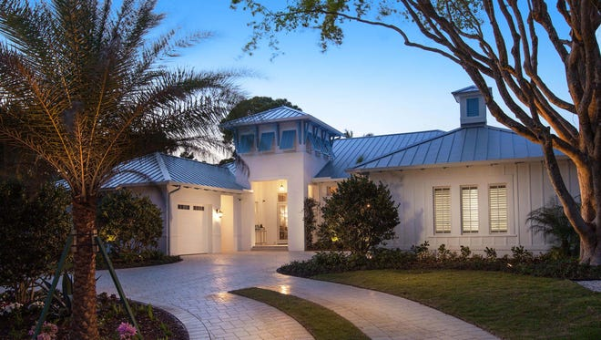 The Anguilla in Park Shore received an Aurora Award for best single-family detached home in the 3,500- to 3,999-square-foot category.