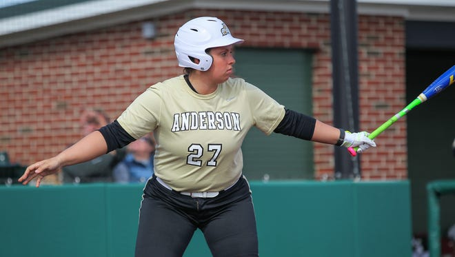 Anderson senior Augie Pena ranks fourth on the team in RBIs (28) and second in the SAC in strikeouts (143).