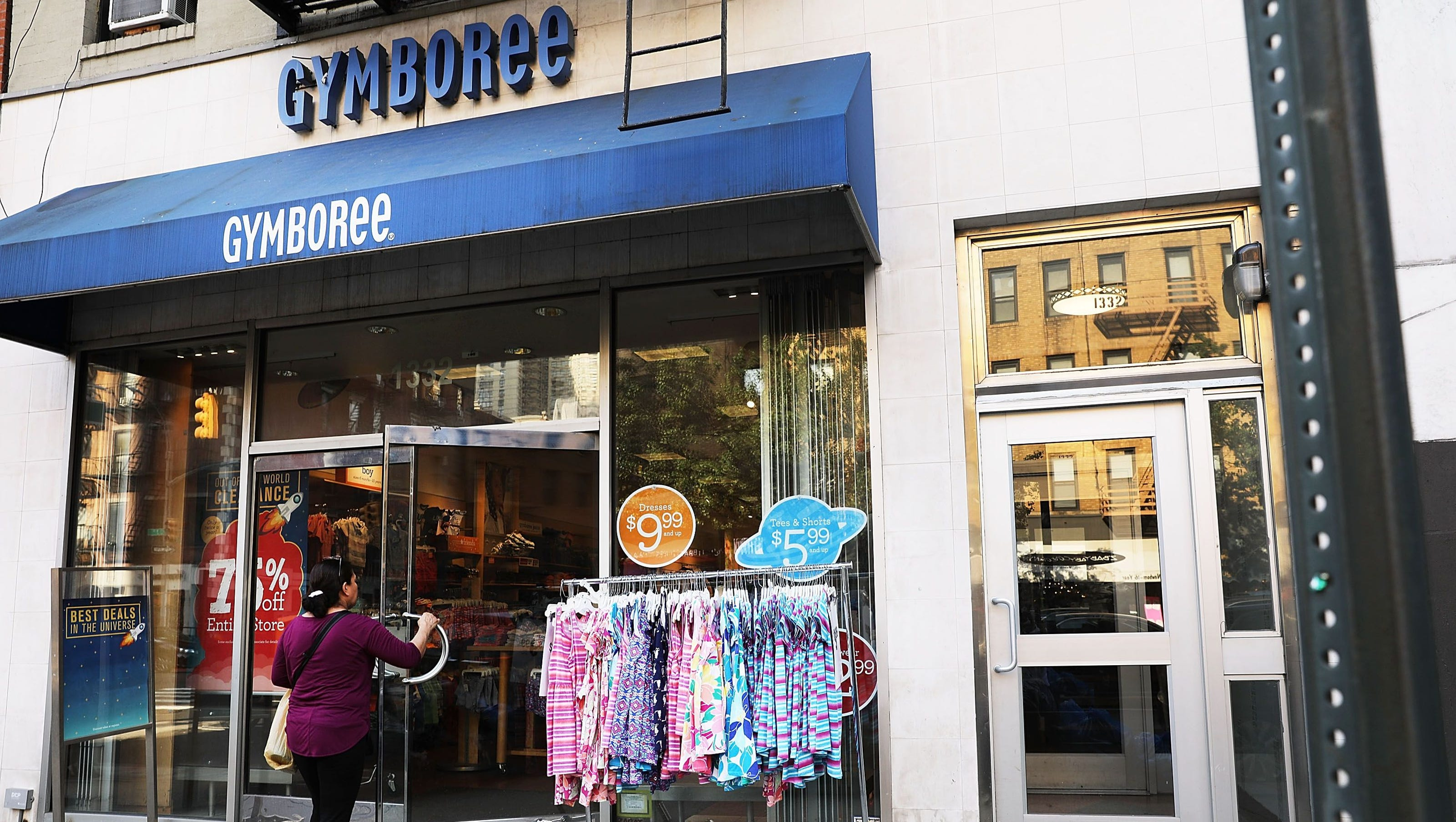 gymboree closing 350 stores, here is the list