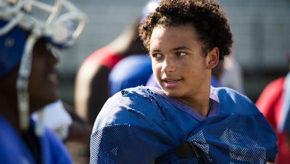 Isaiah Bailey, a sophomore cornerback on Riverside's