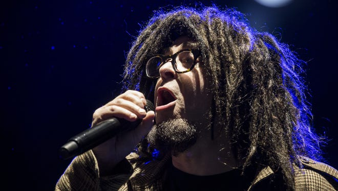Counting Crows performs during the Innings Festival on March 25 in Tempe, Ariz. The band has announced a Aug. 26 performance at Blossom Music Center.