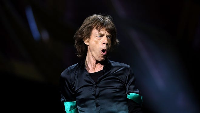 Mick Jagger at Rod Laver Arena on Nov. 5, 2014, in Melbourne, Australia.