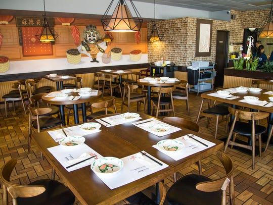 Interior of Original Cuisine restaurant in Mesa, Wednesday,
