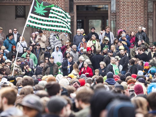 Hash Bash returns Saturday afternoon to the Diag on