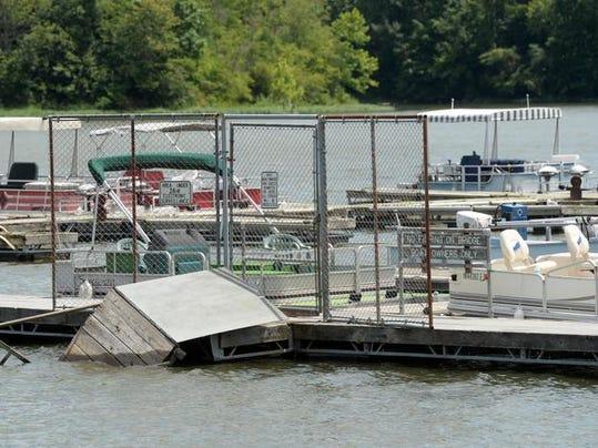 boat dock file photo