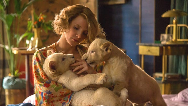 Jessica Chastain stars in the World War II drama 'The Zookeeper's Wife.'