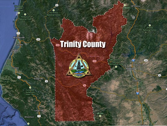 #stockphoto - Trinity County map