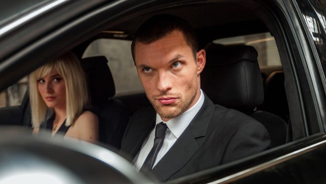Loan Chabanol (left) and Ed Skrein star in  'The Transporter Refueled.'