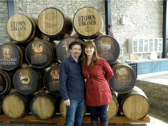 Ginny Tonic and business partner Charlie Moore lead Tonic Tours Cincinnati Microbrewery Tours.