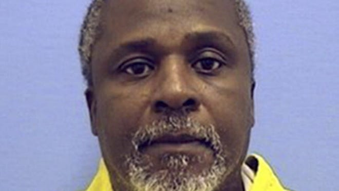 This undated photo provided by the Illinois Department of Corrections shows inmate Alstory Simon. On Thursday, Oct. 30, 2014, a Cook County judge ordered the release of Simon, whose confession helped free a death row inmate in a 1982 double killing. Simon's confession in the high-profile case led to the 1999 release of Anthony Porter, who had spent 16 years on death row and whose supporters maintained he was wrongfully convicted.