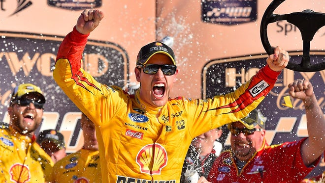 Joey Logano has secured a spot in the next round of the Chase with two straight wins.
