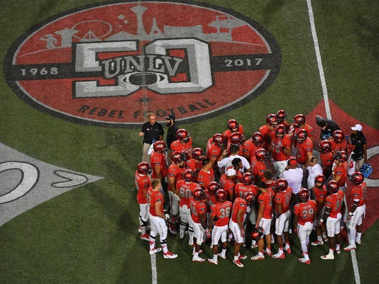 NCAA Football: San Jose State at UNLV