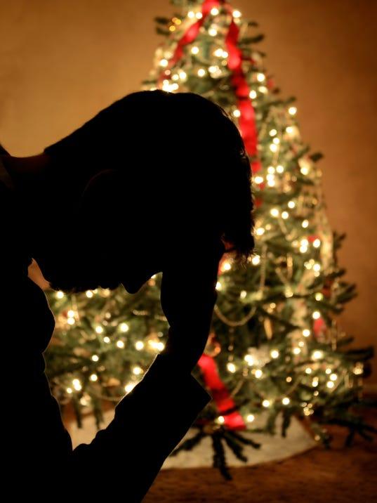Holiday Depression Close Up