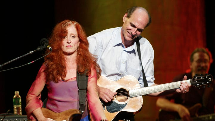 James Taylor, with special guest Bonnie Raitt, has