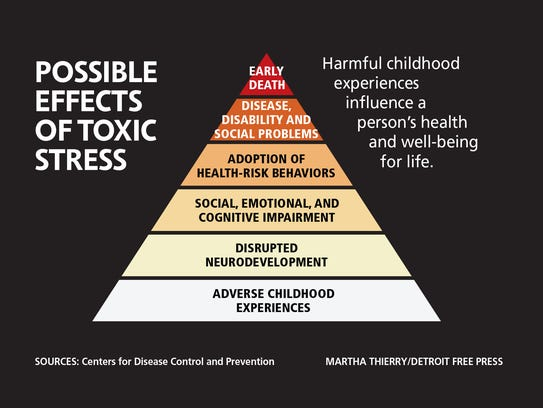 Possible effects of toxic stress