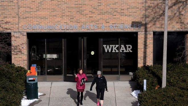 WKAR's offices are located inside the building.