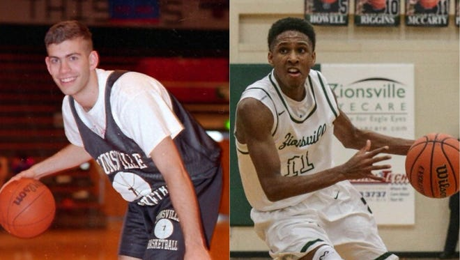 Brad Stevens congratulated Purdue commit and Zionsville junior Isaiah Thompson on breaking the school's scoring record.