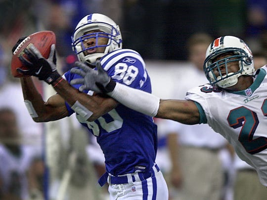 Marvin Harrison spent his entire Hall of Fame career