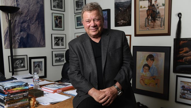 William Shatner, the iconic Captain Kirk, talks to USA TODAY about the importance of music to 'Star Trek' as a North American concert tour celebrating 'Trek' music opens.