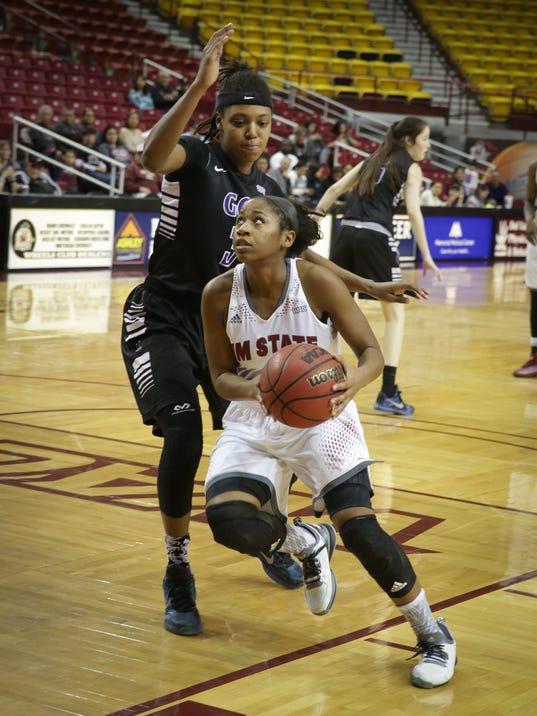 NMSU vs Grand Canyon Women's Basketball