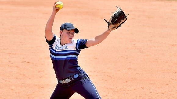 Enka senior Courtney Pearson won 68 career games and two state championships for the Sugar Jets.