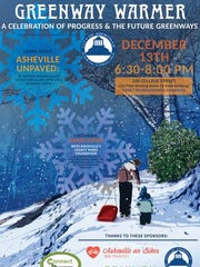 Asheville is holding a Dec. 13 free public event for people to learn about unpaved greenways. Until recently, the city has mandated paved paths, but expense and other factors may change the policy.