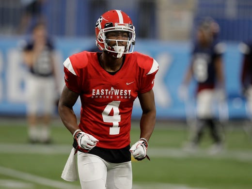 4bb4ba9cf East Wide receiver Terry Godwin II (4), of Georgia, during the second