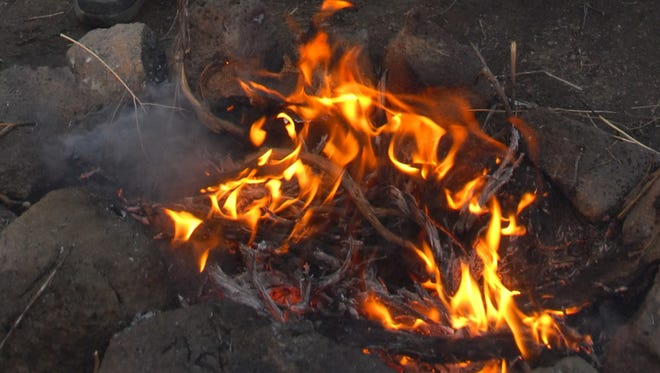 File photo of a Campfire
