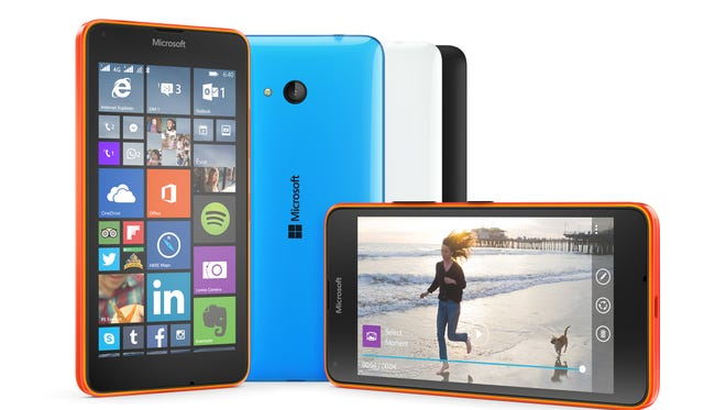 Microsoft Lumia 640 collection.