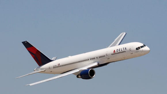 This file photo shows a Delta Air Lines Boeing 757.