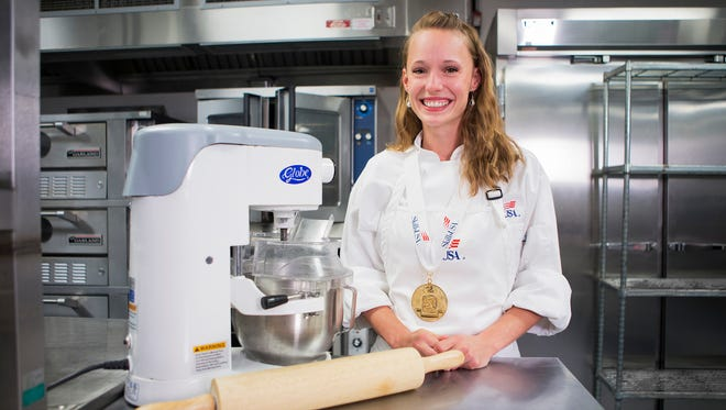 Chantal Cheevers Skills USA Commercial Baking Culinary Gold Medalist
