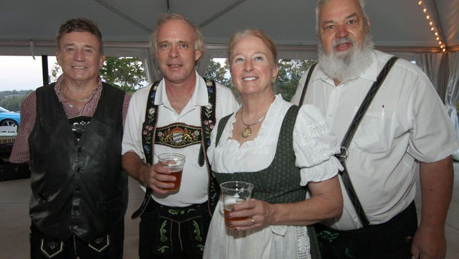 The band Musik Meisters will provide the entertainment for Oktoberfest at the Foxland Harbor Club in Gallatin again this year. Band members, from left are, Sonny Lonas, Tommy Cooper, Karen and Larry Yatuzis. The event is a fundraiser for the Literacy Council of Middle Tennessee.