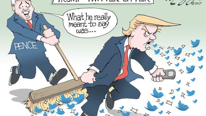 Trump Twitter litter