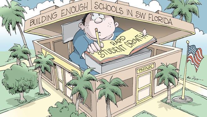 Rapid student growth.