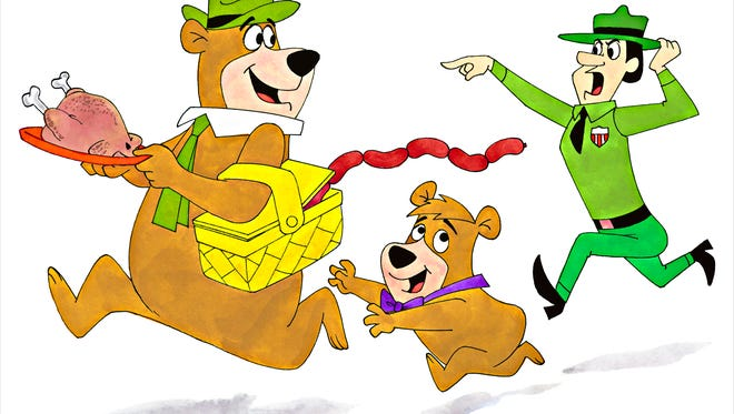 """""""Yogi Bear"""" is among the cartoons Ron Campbell worked on. He now creates pop art based on the characters."""
