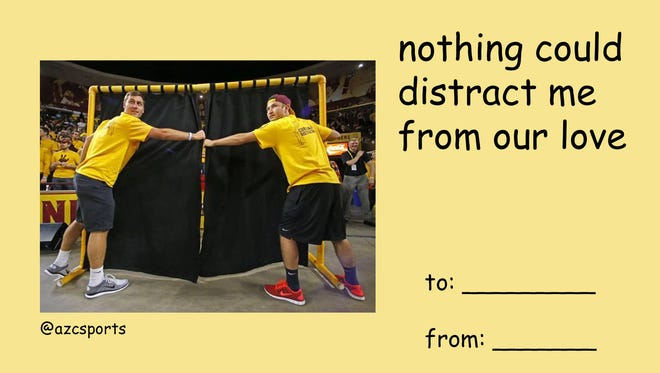 There's no need to hide your love behind the curtain of distraction,