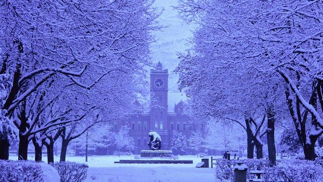 A 2009 photo of the University of Montana.