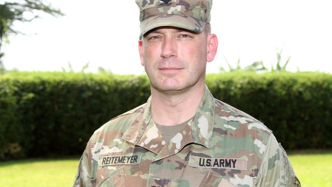 Col. William Retemeyer, a Manville native and Immaculata High School graduate, is serving in the Army National Guard as an adviser to the African government of Cameroon.