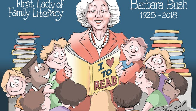 First Lady of family literacy