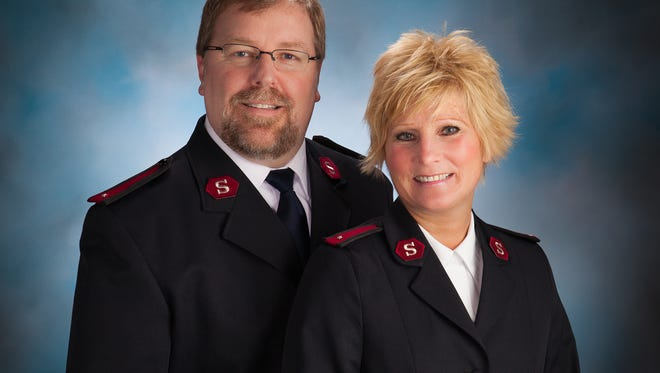 Salvation Army of Manitowoc County lieutenants Jeff and Terri Olson