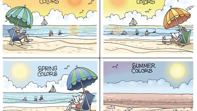 Change of seasons.
