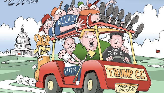 Trump's allies.