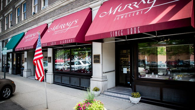 Murray's Jewelers in downtown Muncie.
