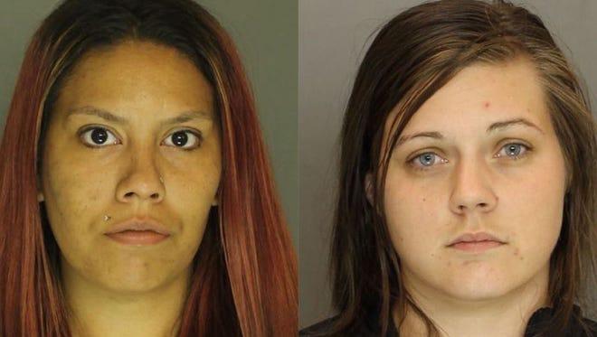 Chelsea Kelly Nance (left), Katelyn Courtney Michaels