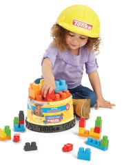 Tonka Mighty Builders Hart Hat Bucket Playsets