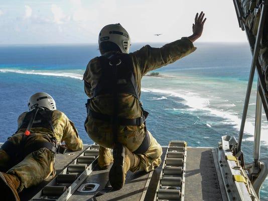 U.S., RAAF and JASDF launch Operation Christmas Drop 2015
